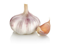 Garlic and cloves Royalty Free Stock Image