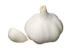 Garlic and cloves Royalty Free Stock Photos
