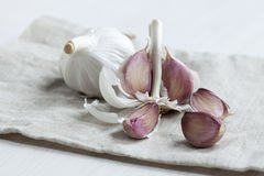 Garlic cloves Stock Photography