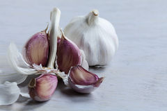 Garlic cloves Royalty Free Stock Photo