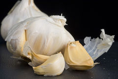 Garlic Clusters Stock Image