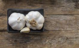 garlic Cravos-da-índia de alho e bulbo do alho Imagens de Stock