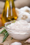 Garlic Dip (Aioli) Royalty Free Stock Images