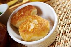 Garlic donuts Royalty Free Stock Images