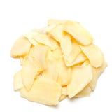 Garlic flakes Royalty Free Stock Photo