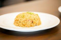 Garlic fried rice japanese food Royalty Free Stock Photos