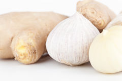 Garlic and ginger Royalty Free Stock Photography