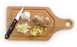 Garlic and ginger Stock Photo