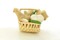Garlic ginger chili Stock Image