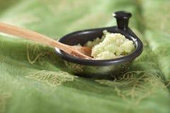 Garlic and ginger paste Royalty Free Stock Image