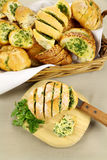 Garlic And Herb Bread Royalty Free Stock Images