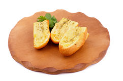 Garlic and Herb Bread Royalty Free Stock Photography