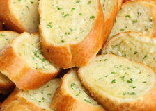 Garlic & Herb Bread Stock Images