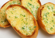Garlic & Herb Bread Stock Image