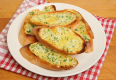 Garlic & Herb Bread Royalty Free Stock Images