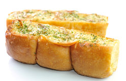 Garlic and herb bread Royalty Free Stock Photo