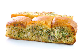 Garlic and herb bread Stock Photo