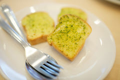 Garlic and Herb Bread Royalty Free Stock Photos