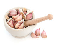 Garlic Herb Cloves Stock Image