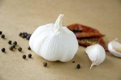 Garlic ingredient Royalty Free Stock Image