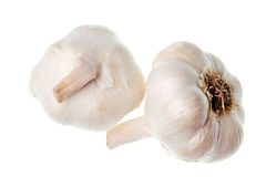 Garlic isolated Stock Photo