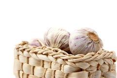 Garlic isolated on white Royalty Free Stock Photography