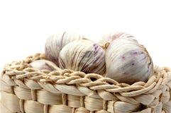 Garlic isolated on white Stock Image