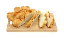Garlic Loaf Slices Royalty Free Stock Photo