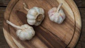 Garlic lobes Royalty Free Stock Images