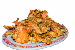 Garlic lobster Chinese style Royalty Free Stock Photo