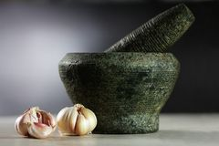 Garlic 5(a) Stock Images