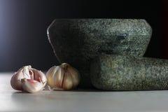 Garlic 7(a) Stock Image