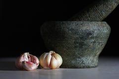 Garlic 6(a) Royalty Free Stock Images