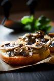Garlic Mushrooms Royalty Free Stock Images