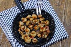 Garlic mushrooms. Royalty Free Stock Photo
