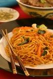 Garlic Noodles Royalty Free Stock Photos