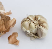 Garlic. Is one of important ingredient for Thai dishes Royalty Free Stock Photography