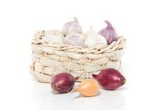 Garlic and onion spice Stock Photos