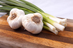 Garlic and onions. Royalty Free Stock Photography