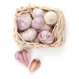 Garlic pack Stock Image