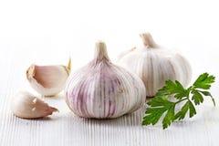 Garlic and parsley Royalty Free Stock Image