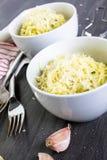 Garlic pasta Royalty Free Stock Photos