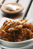 Garlic Pickle - A popular Indian pickle Royalty Free Stock Photo