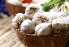 Garlic pods Royalty Free Stock Photo