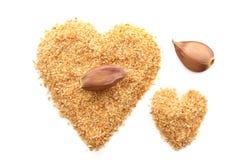 Garlic powder Stock Image