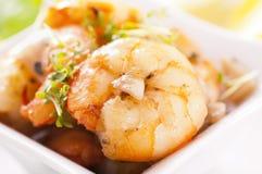 Garlic prawns Royalty Free Stock Photo