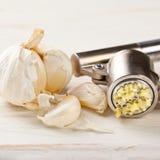 Garlic press Royalty Free Stock Image