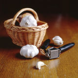 Garlic Press Royalty Free Stock Photo