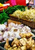 Garlic queen victoria market Stock Photos