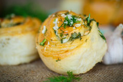 Garlic rolls Stock Images